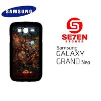 Casing HP Samsung Grand Neo Diablo 3 characters Custom Hardcase Cover