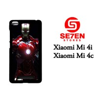 Casing HP Xiaomi Mi4i, Mi4c iron man suit Custom Hardcase Cover