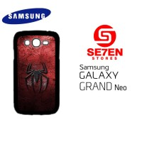 Casing HP Samsung Grand Neo Grungy spiderman logo Custom Hardcase Cove