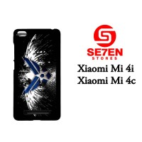 Casing HP Xiaomi Mi4i, Mi4c logo wallpaper Custom Hardcase Cover