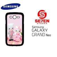 Casing HP Samsung Grand Neo hello kitty & dear daniel 1 Custom Hardcas