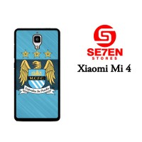 Casing HP Xiaomi Mi4 Manchester City FC Custom Hardcase Cover
