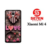 Casing HP Xiaomi Mi4 Love Gift Custom Hardcase Cover