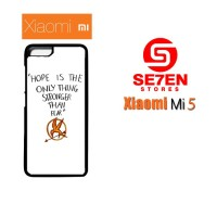 Casing HP Xiaomi Mi5 Hope is The Only Thing Custom Hardcase Cover