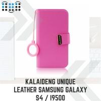 harga Kalaideng Unique Leather Samsung Galaxy S4 / I9500 - Pink Tokopedia.com