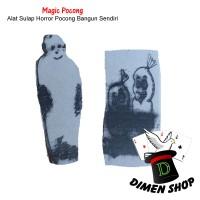 Magic Pocong | Alat Sulap | Mainan | Pocong Bangun | Magic| Dimen Shop