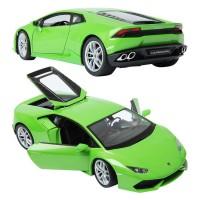 Diecast Lamborghini Huracan LP 610-4 Green Skala 1:24