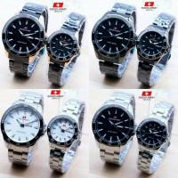 jam tangan swiss army rantai couple fashion cowo cewe