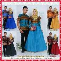 Harga batik couple sarimbit alisya seragam pesta hijab baju | Pembandingharga.com