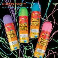 crazy string / snow spray/ spray party/ party string / semprotan salju