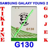 Baterai Samsung Galaxy Young 2 G130 Double Power Rakki Panda