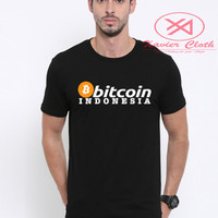 Premium Tshirt Cowo Keren - Kaos - Baju Game Bitcoin Indonesia 2