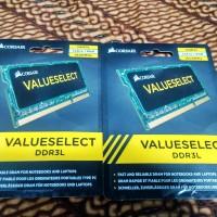 Memory RAM Corsair Laptop DDR3L 8GB PC12800 KK0106 Murah