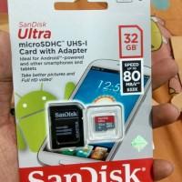 Jual Sandisk 32gb Ultra MicroSD Card Original Murah