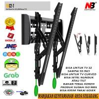Jual BRACKET TV BRAKET TV BREKET TV LCD LED NORTH BAYOU NBC2-T 32-55inci Murah