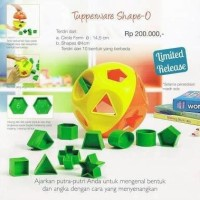 Shape O toys Tupperware Toy
