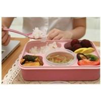 Jual wadah Lunch Box Kotak Makan Sup Yooyee 5 Sekat bento kotak bekal bento Murah