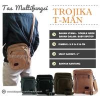 Tas Selempang Pria Multifungsi Trojika T-Man Tman Slingbag Traveller