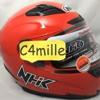 Helm Full face NHK RX9 ref ferrari  merah cabe
