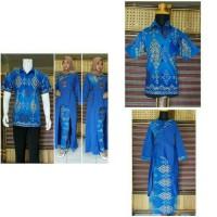 Harga baju couple batik muslim keluarga terbaru bsg594 | Pembandingharga.com