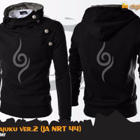 Jual Jaket Harajuku Anbu Black / Jaket Naruto Cosplay Anbu Murah