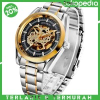 Ouyawei Skeleton Stainless Steel Automatic Mechanical Watch - OYW1320