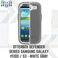 Otterbox Defender series Samsung Galaxy i9300 / S3 - White Gray (1)