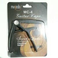 Jual Capo Gitar Original Musedo MC-4 Murah