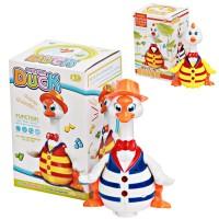 Mainan Bayi Anak Bebek / Ayam Jalan SUara Lampu