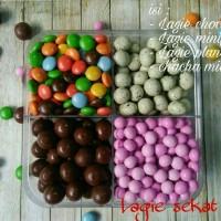 harga Set Coklat Lagie 4 Sekat / Coklat Murah Kiloan / Lagie / Cokelat Tokopedia.com