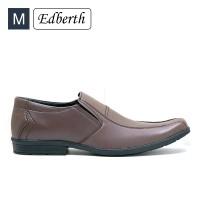 Jual Sepatu Pria Edberth Formal Moskwa Coklat Murah