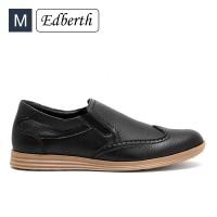 Jual Sepatu Pria Edberth Formal  Budlin Hitam Murah