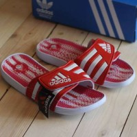 baru sandal adidas casual santai terapi grade original vietnam red