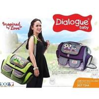 Jual Dialogue Tas Besar Jumbo Bonus MiniBag Owl Series DGT 7237 Murah