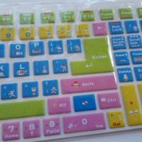 Jual Cute Color - Keyboard Sticker Murah