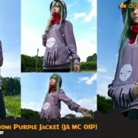 Jaket Anime Mekaku City Kido Tsubomi Cosplay Hoodie XXL (JA MC 01P)