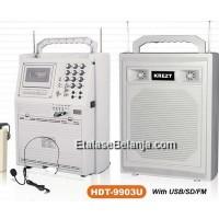 PORTABLE SOUND SYSTEM KREZT HDT-9903U - HDT-9903 U - 9903