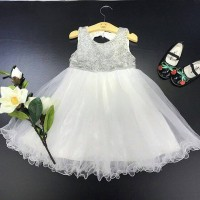 GA2430 RAELYN DRESS WHITE (BAJUKIDDIE) DRESS ANAK PEREMPUAN IMPORT