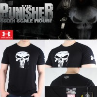 T-SHIRT UNDER ARMOUR IMPOR PREMIUM MARVEL SPECIAL THE PUNISHER EDITION
