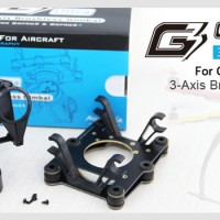 Feiyu FY-G3 Ultra 3-Axis AirCraft-Drone Gimbal for GoPro Hero 3/3+