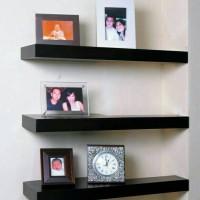 Jual 3pcs rak dinding minimalis /floating shelves / rak ambalan Murah