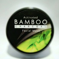 Jual Masker Wajah Natural Activated Bamboo Charcoal Murah