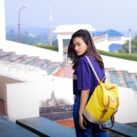 Jual Tas Ransel Backpack - Rayleigh Caitlyn & Blair Nara Yellow Pale Murah