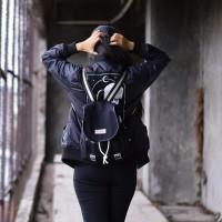 Jual Tas Ransel Backpack - Rayleigh Caitlyn & Blair Dublin Silky Black Murah
