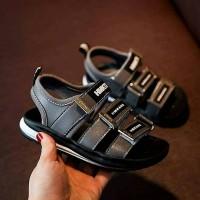 Novel Grey Sandal Shoes