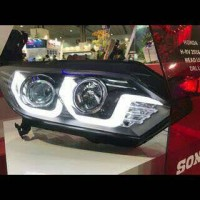 Headlamp lampu utama honda hrv prestige 2015 2016 2017 double led