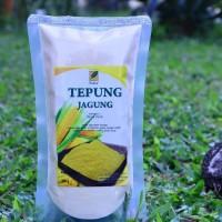 Tepung Jagung Lokal 250 gram NON GMO Serambi Botani Fits