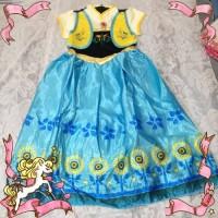 kostum frozen elsa Anna dress princess anak perempuan impor gaun anak