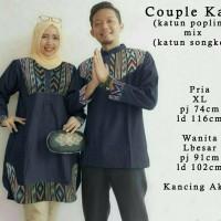 baju gamis dan baju koko couple muslimah