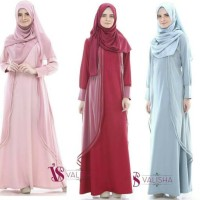 Baju Gamis Kirey Dress by Valisha